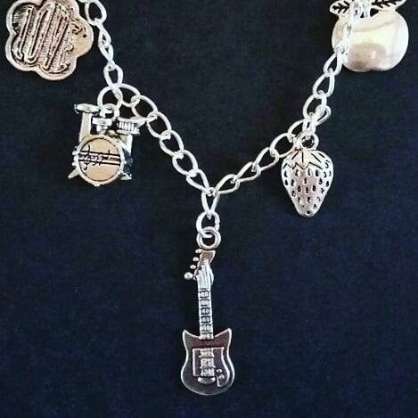Beatles Themed Charm Bracelet